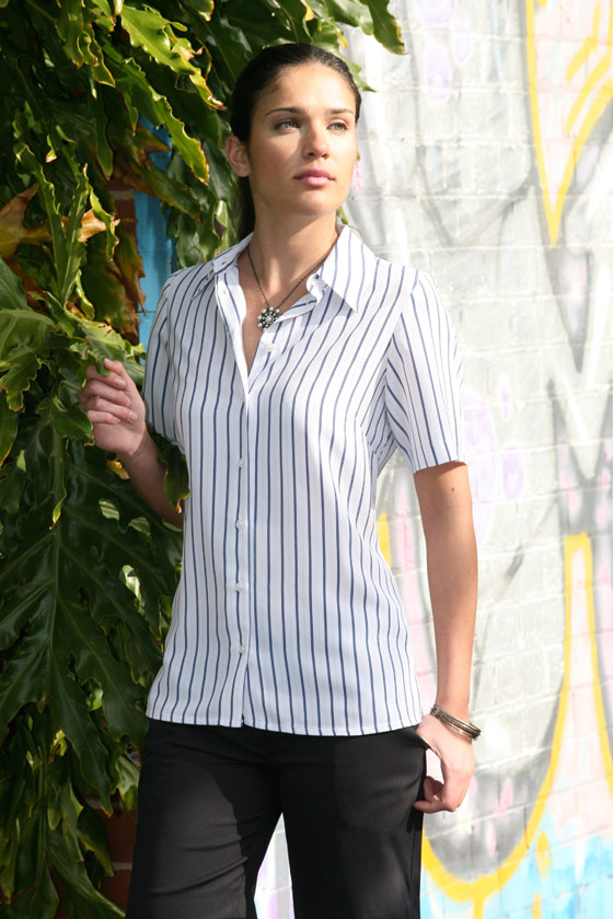 Ladies Stripe Shirt