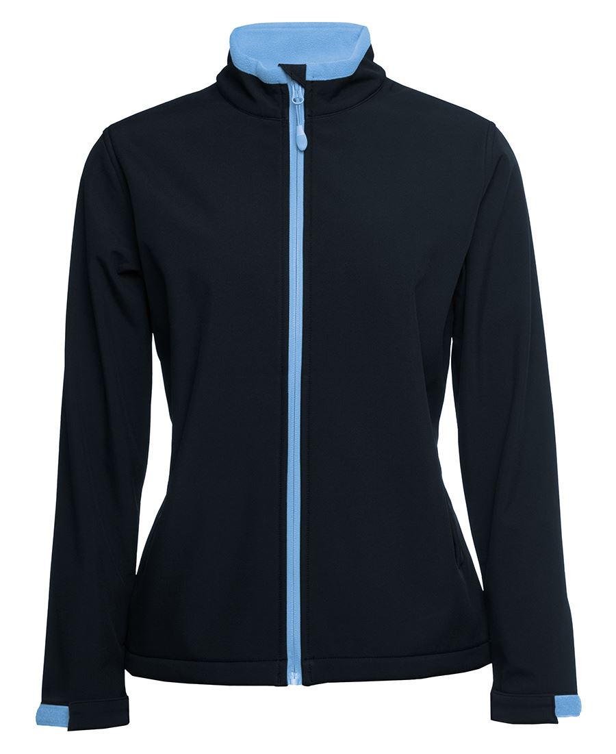 JBswear 3WSJ1-Ladies Water Resistant Softshell Jacket