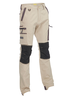 Bisley BPC6330 Flex & Move Stretch cargo zip Pant