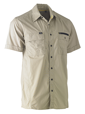 Bisley BS1144-Flexi Move Utility Drill Shirt -S/S