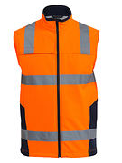 Bisley BV0348T-Hivi Softshell VEST with 3M