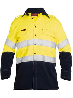 17a0d3e63bd8 Bisley BS8082T- Hi Vis FR Vented Long Sleeve Shirt
