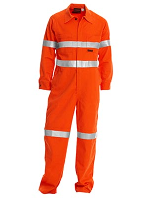 Bisley BC8001-Fire Retardant Coverall 3M FR Reflective Tap