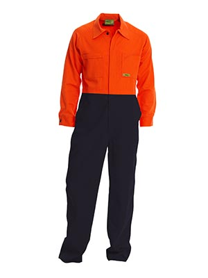 Bisley VRC6720-Insect Repellent Regular Hi Vis Coverall