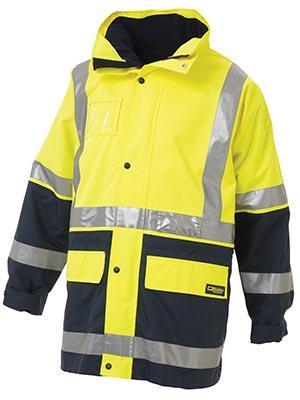 Bisley Bk6975 5 In 1 Rain Jacket With 3m R Tape 83 75