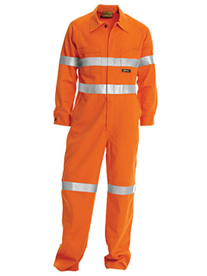 Bisley BC6718TW-Hi Vis Lightweight Coveralls 3M Reflective Tape