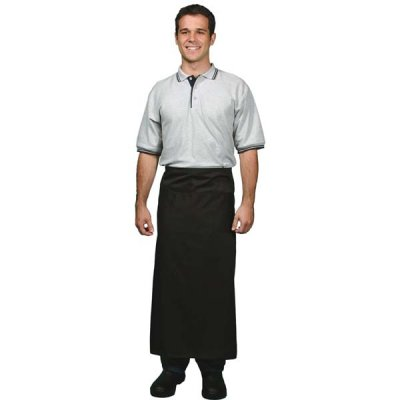 DNC 2401-290gsm Cotton Drill Continental Apron—With Pocket