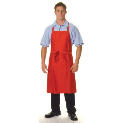 DNC 2511-200gsm Polyester Cotton Full Bib—With Pocket