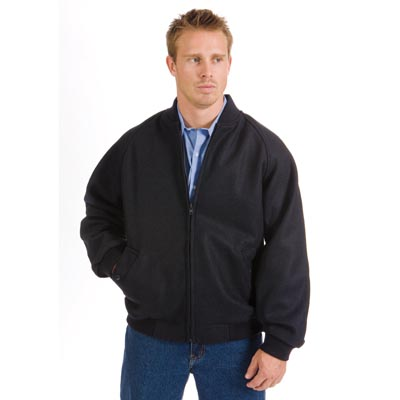 DNC 3602-21OZ 90% Wool Blend Bluey Jacket with Ribbing Collar &