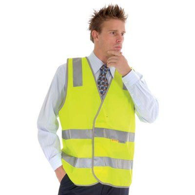 DNC 3803-Day/Night Safety Vest, 3M R/Tape