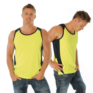 DNC 3842-175gsm HiVis Cool-Breathe Action Singlet