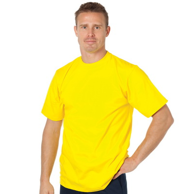 DNC 3847-200gsm HiVis Cotton Jersey Tee, S/S
