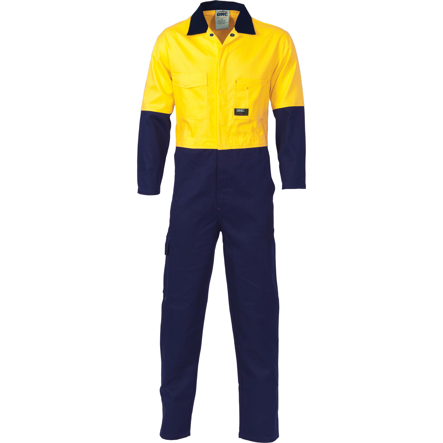 DNC 3852-190gsm HiVis Cool-Breeze Two Tone Light Weight Cotton C