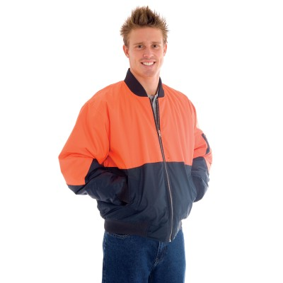 DNC 3861-300D Polyester/PU HiVis Two Tone Flying Jacket
