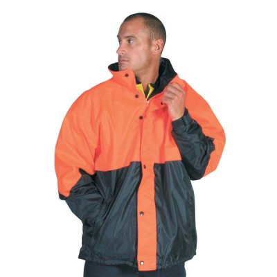 DNC 3866-300D Polyester/PU HiVis Two Tone Classic Jacket