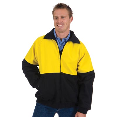 DNC 3869-21OZ 90% Wool Blend HiVis Two Tone Bluey Jacket