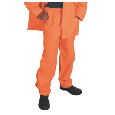 DNC 3874-300D Polyester/PU HiVis Breathable Rain Trousers