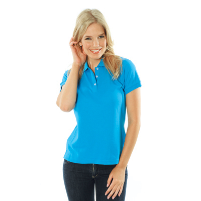 DNC 5258-220gsm Ladies Cotton Rich New Yeork Polo