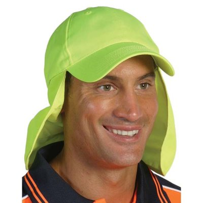 DNC H023-HiVis Cap with Flap