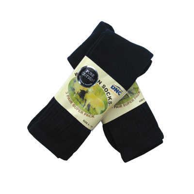 DNC S112-100% Cotton Socks