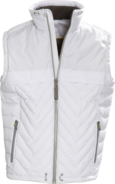 James Harvest Burney-Water repellent unisex padded vest with wat