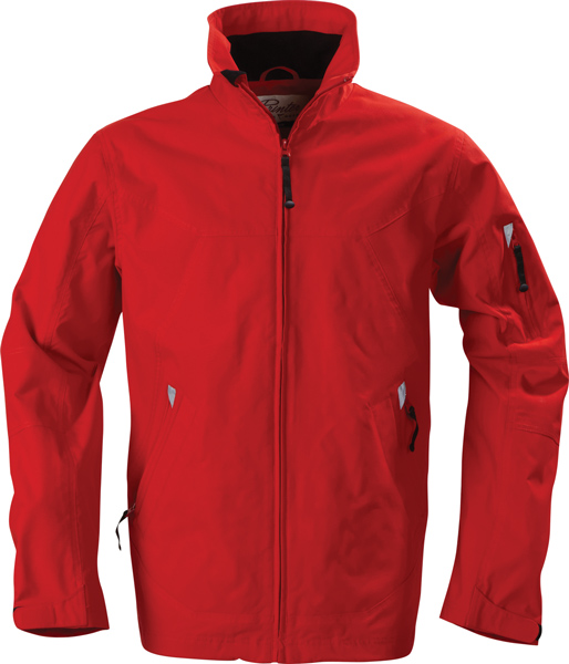 James Harvest Downhill-Unisex shell jacket, pre curved sleeves,