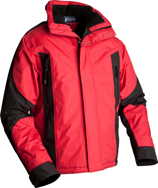 BEACON Marshall-Unisex, wind and waterproof jacket with quilt pa ...