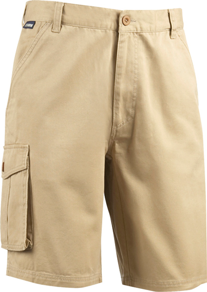 James Harvest Southside-Classic twill shorts. Two back pockets w