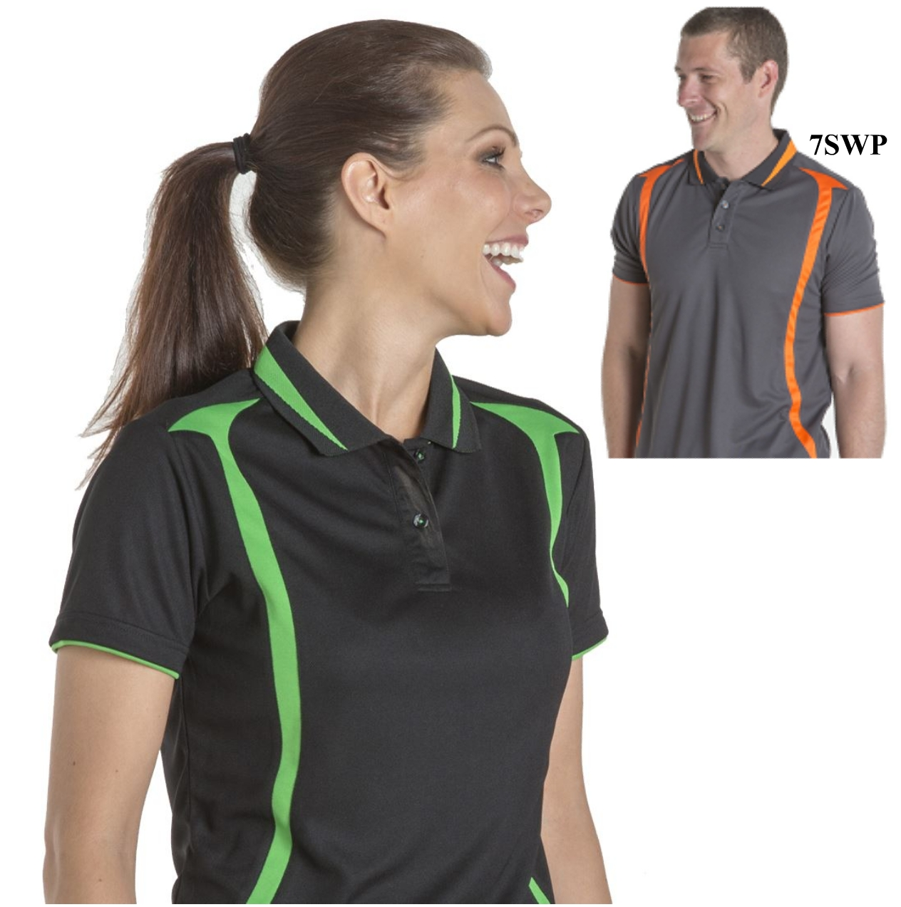JBswear 7SWP1-JBs Ladies Podium Swirl POLO
