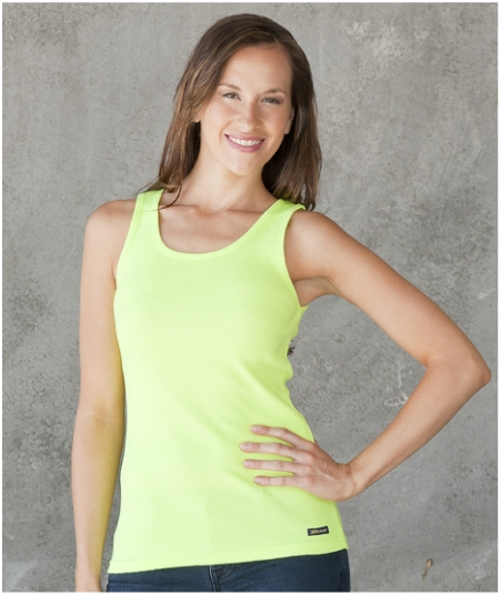 JBswear 6CTS1-JBs Ladies Hi Vis Training Singlet