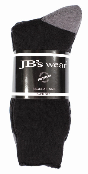 JBswear 6WWS-JBs WORK SOCK (3 PACK)