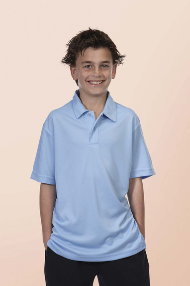 JBswear 7KSP-PODIUM KIDS S/S POLY POLO