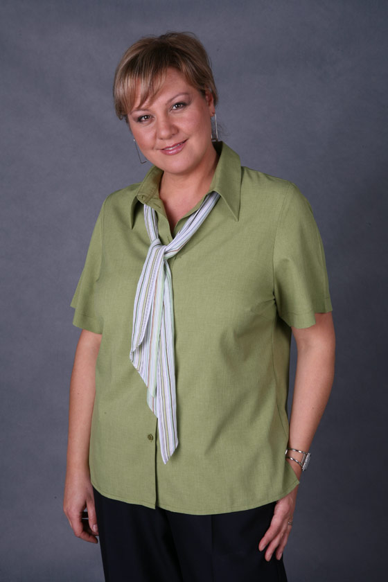 LSJ 2162S-PL Short sleeve 'easy fit' collar shirt
