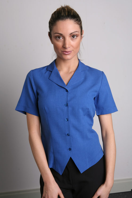 LSJ 222-PL Short sleeve fitted 'sit-out' shirt