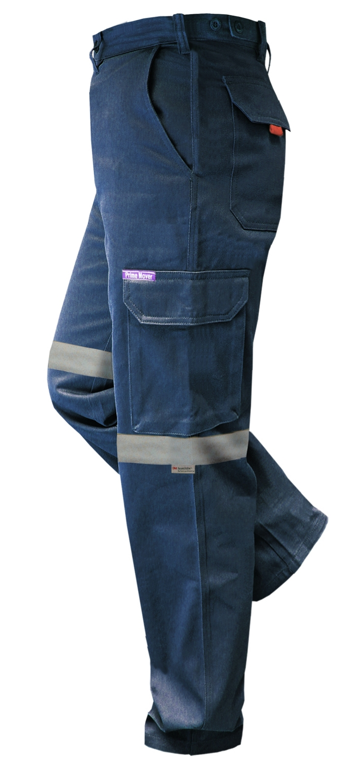 PrimMover CH701K-Flame Retardant Cotton Drill Cargo Pants