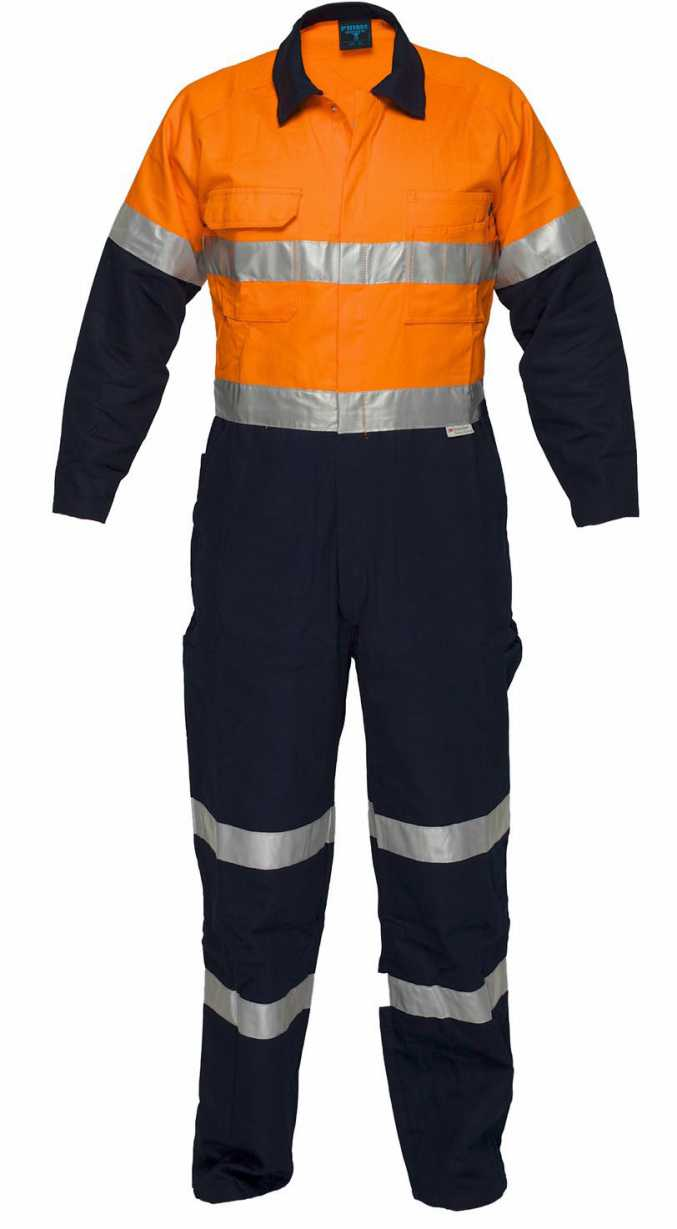 PrimeMover WW9311A-311gsm HiVis Coverall with 3M R/T 77-137S