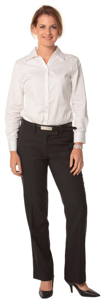 BENCHMARK M9420-Women's Poly/Viscose Stretch Low Rise Pants