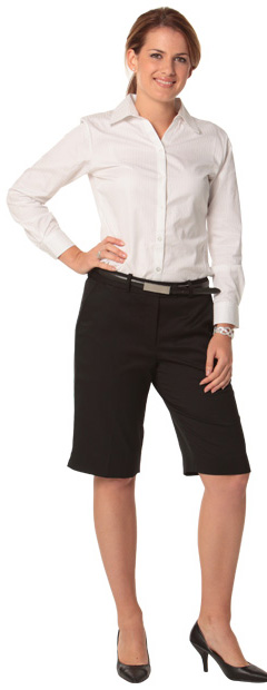 BENCHMARK M9441-Women's Poly/Viscose Stretch Knee Length Fle
