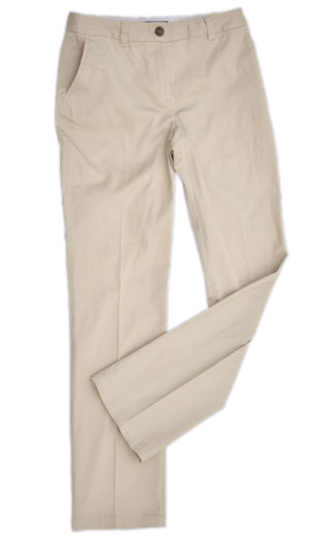 BENCHMARK M9460-Women's Chino Pants 98% Cotton, 2% Elastane