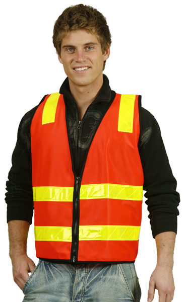 WinningSpirit SW10A-VIC Road Style Safety Vest