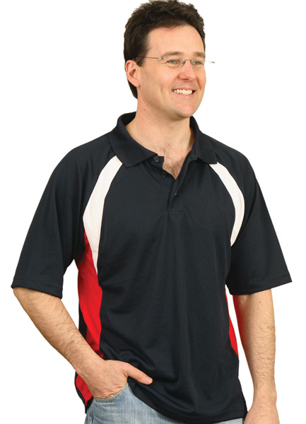 WinningSpirit PS28-Mens CoolDry polo