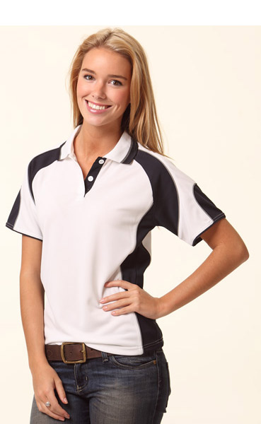 WinningSpirit PS62-Ladies CoolDry Contrast Polo