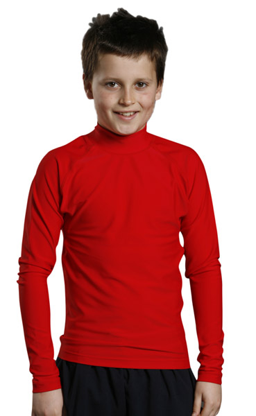WinningSpirit TS36-Kids' Long Sleeve Rashie Surfing Shirt