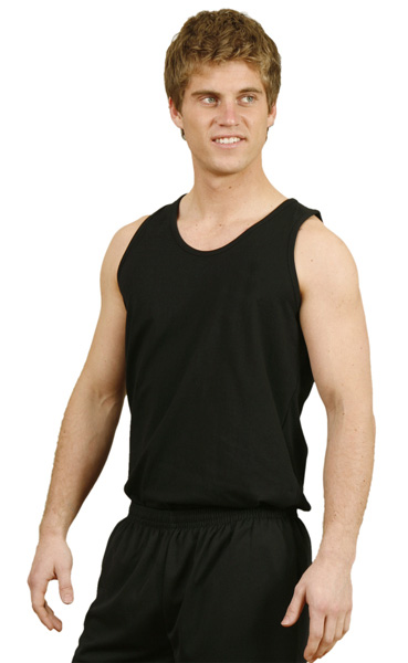 WinningSpirit TS18-Men's Cotton Singlet