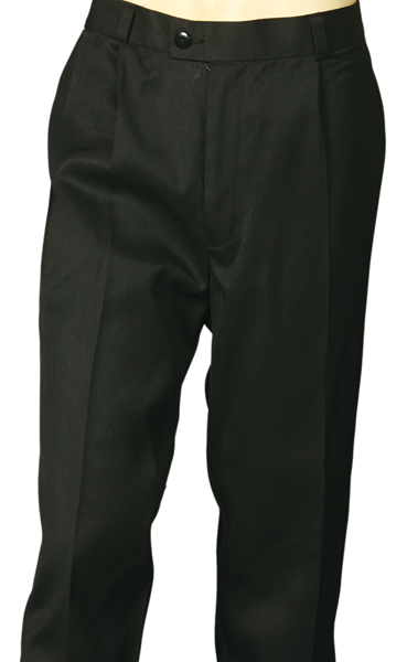 WinningSpirit WP01S(Stout)-Men's Permanent Press Pants Stout Siz