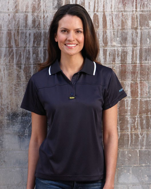Visitec V1007-Ladies Clasic Airwear Polo S/S