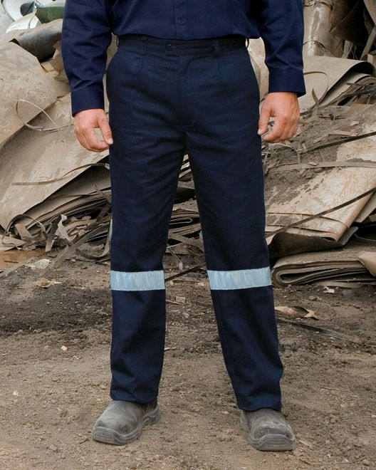 Visitec WPDR-Original Drill Pant With 3M Reflective Tape