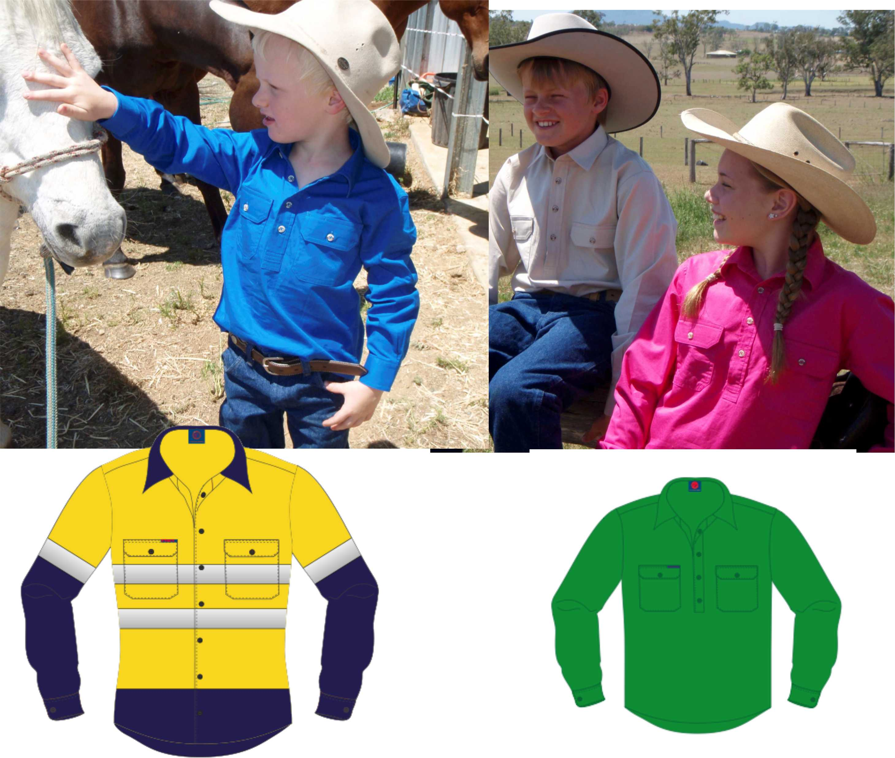 Kids Workwear