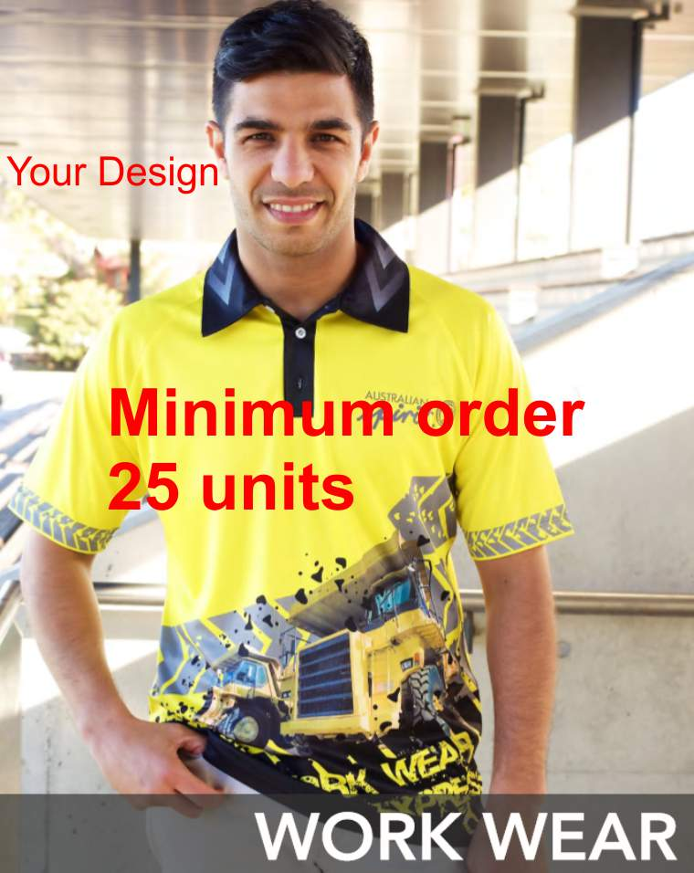 Workwear Style 1 --Design your own color-Minimum 25 units