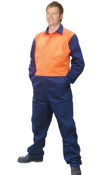 WinningSpirit SWOCS(Stout)-High Visibility Action Back Coverall